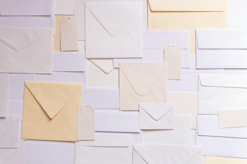 envelope paper lot