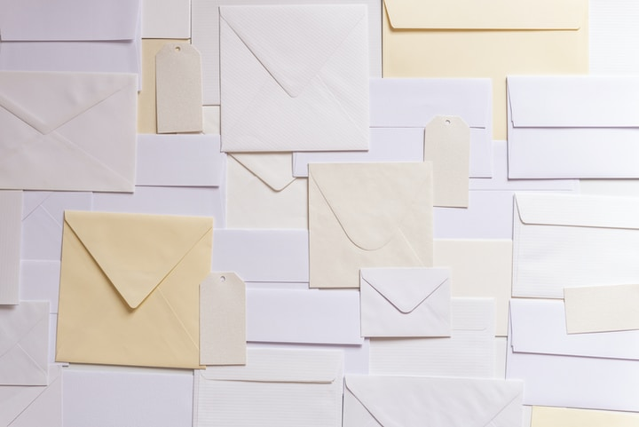 envelope paper lot
