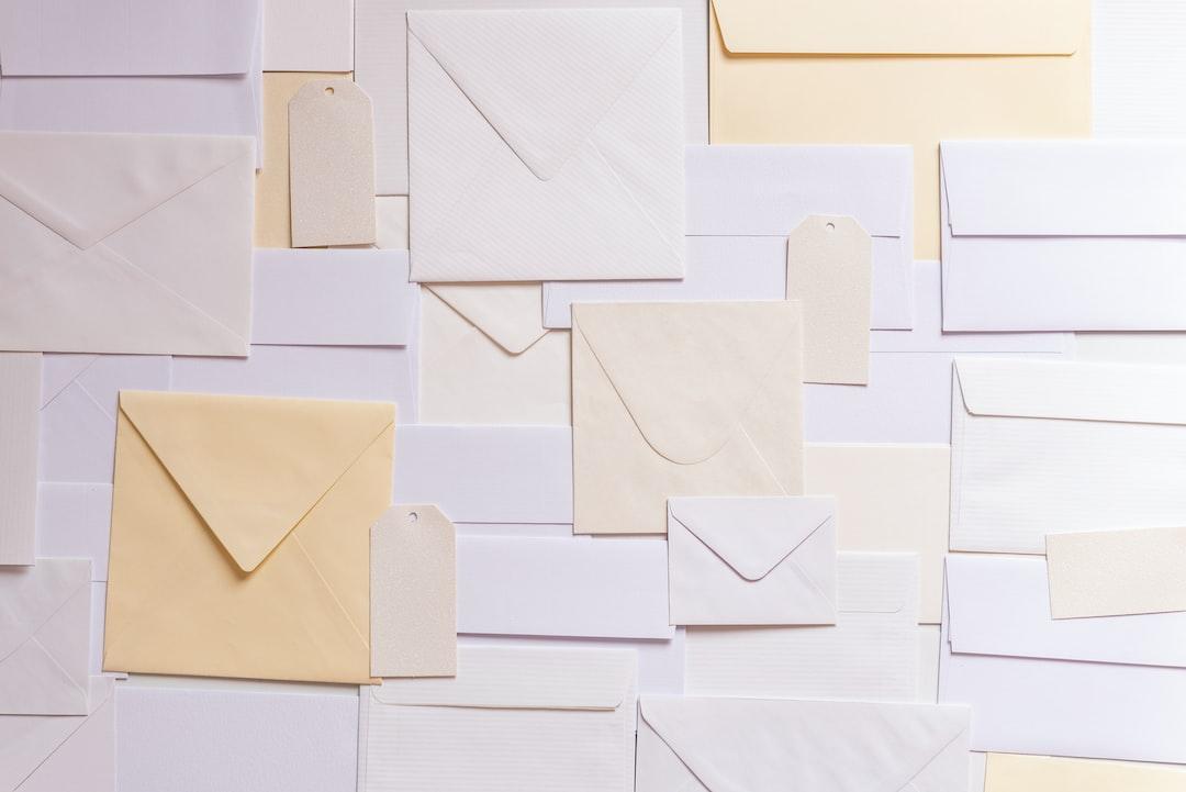 『封筒の4つの単位【枚 / 封 / 通 / 葉】の数え方や「部」の使い方を解説!』の画像
