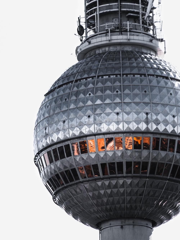 round gray tower