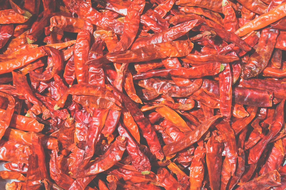 It is common practice in India to properly dry peppers in the hot sun to void them of moisture since a dry chili holds a hotter and spicier taste and can be shelved.