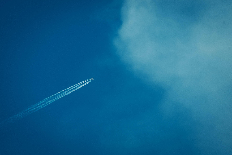 plane in air