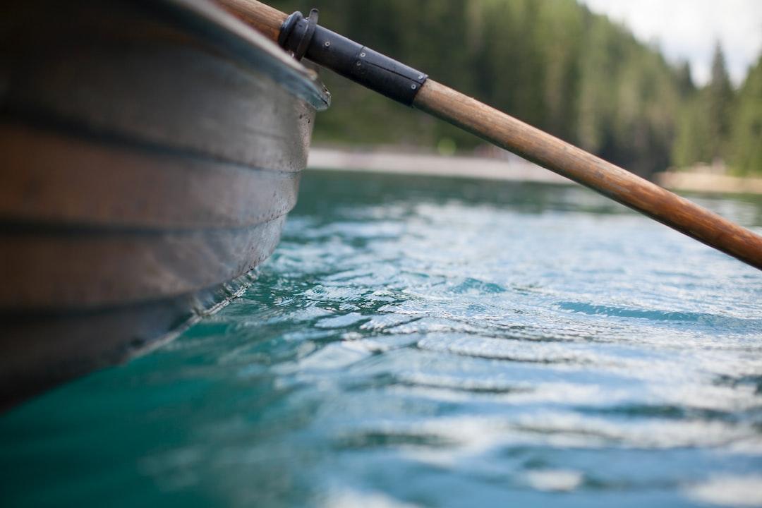 Rowing Lago di Braies Italy