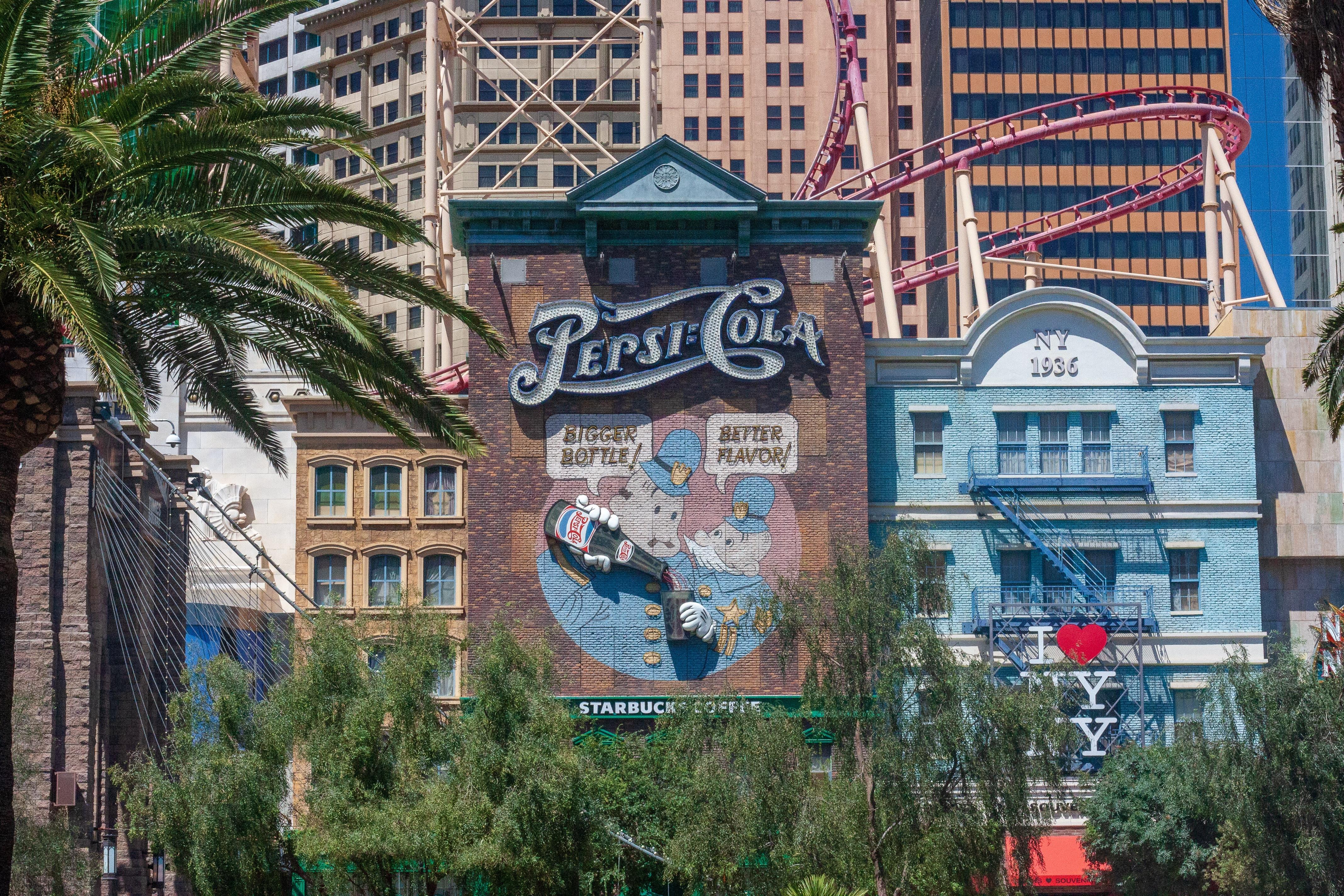 Pepsi-Cola shop front