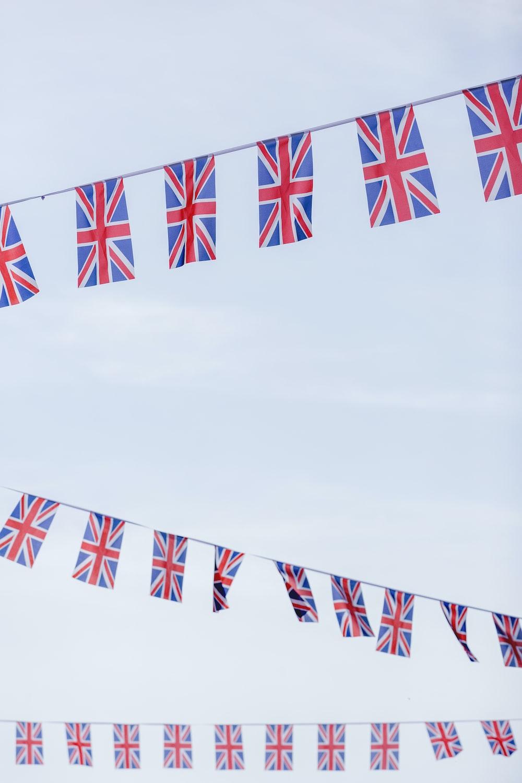 British flag buntings