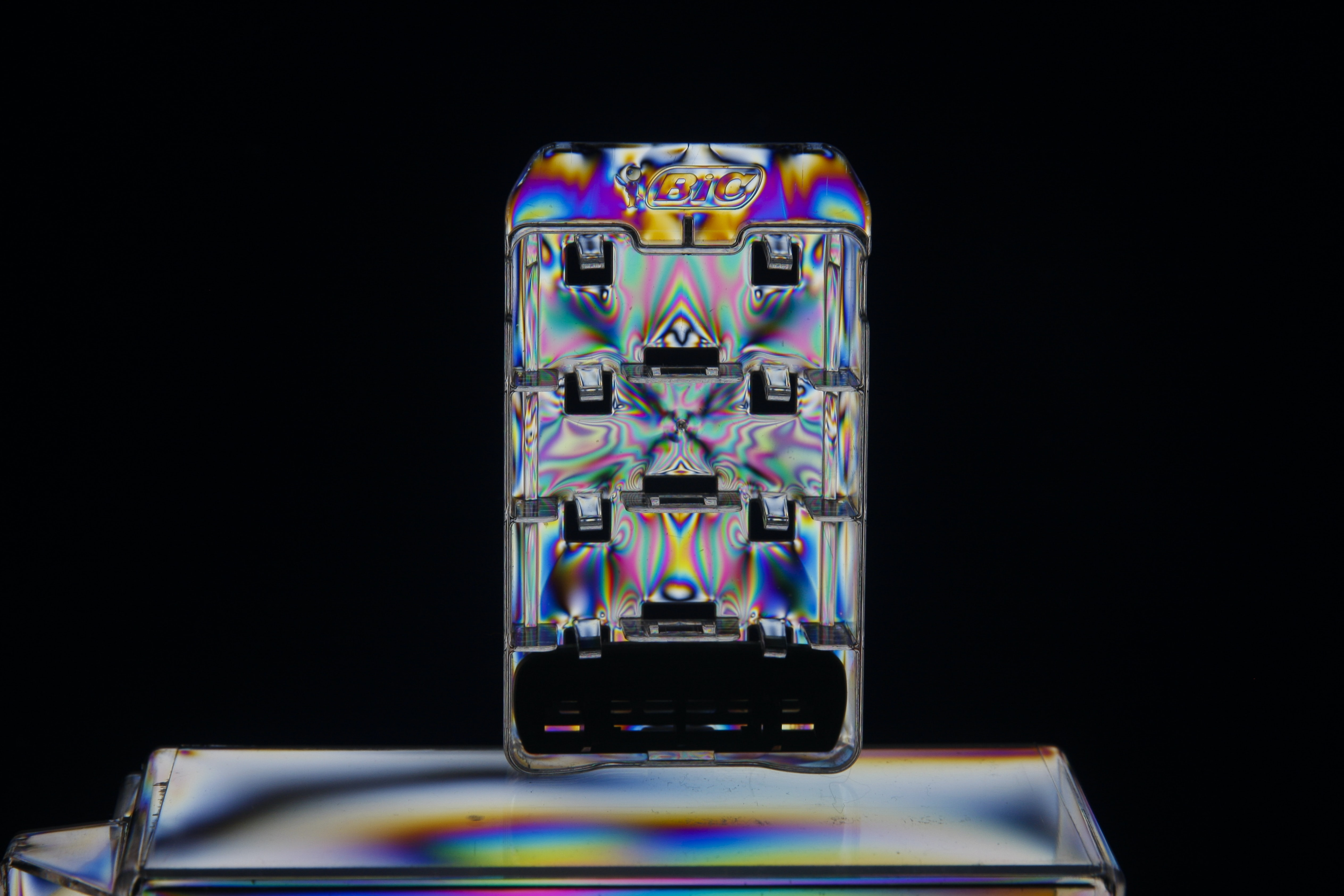 rectangular iridescent case