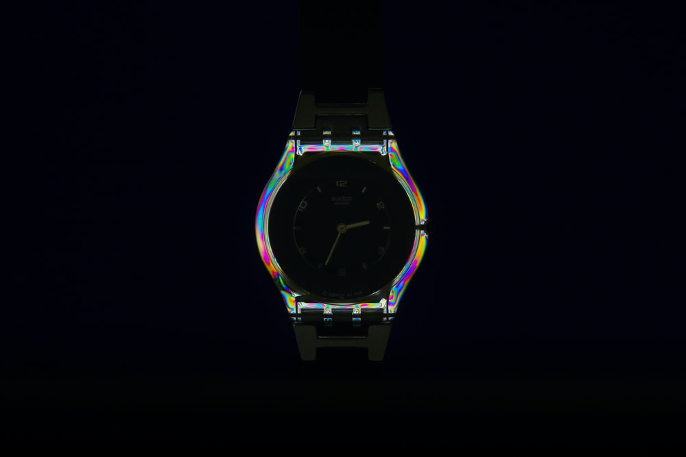watch emitting lights