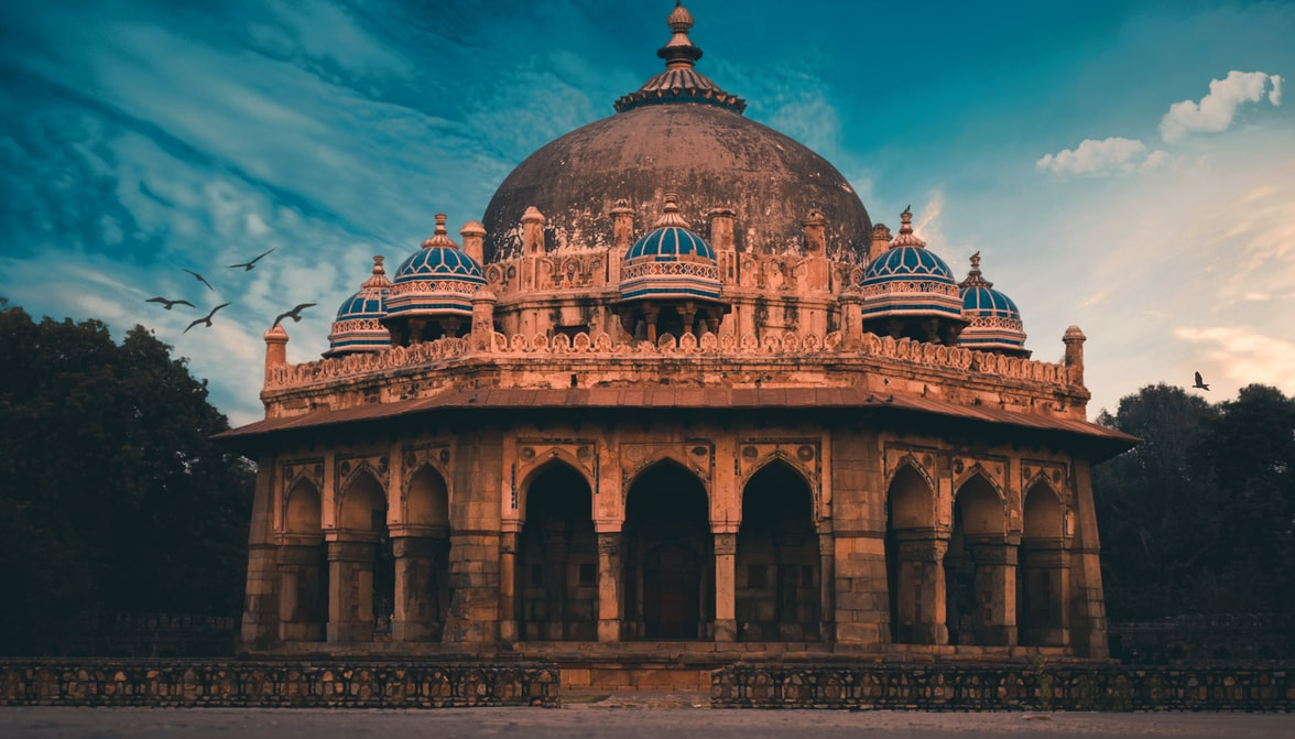 Humayun's Tomb visit during one-day itinerary to Delhi