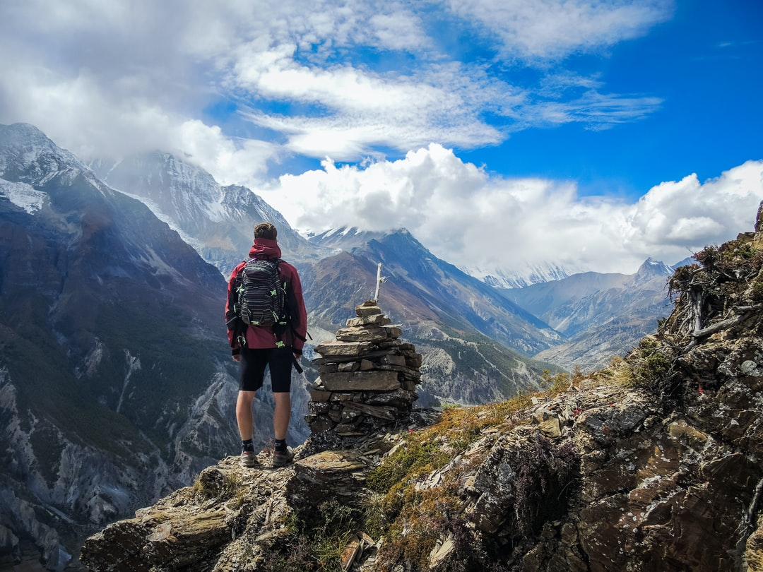 A day hike above Manang Valley in Nepal used to acclimatise to the altitude before embarking on a few further daysof the hike.
