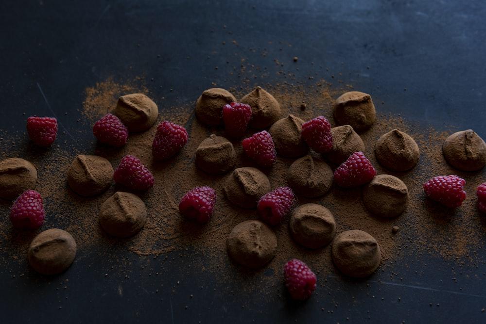 raspberry and chocolate