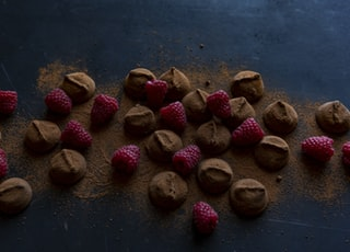 raspberry and chocolate