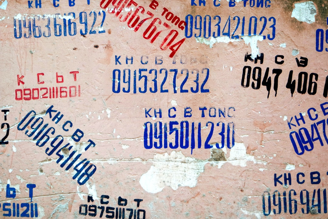 The walls in Hanoi are covered with these adds for all kind of services. Does it really work? Is there anyone who has ever called one of the numbers? That I'll never know!