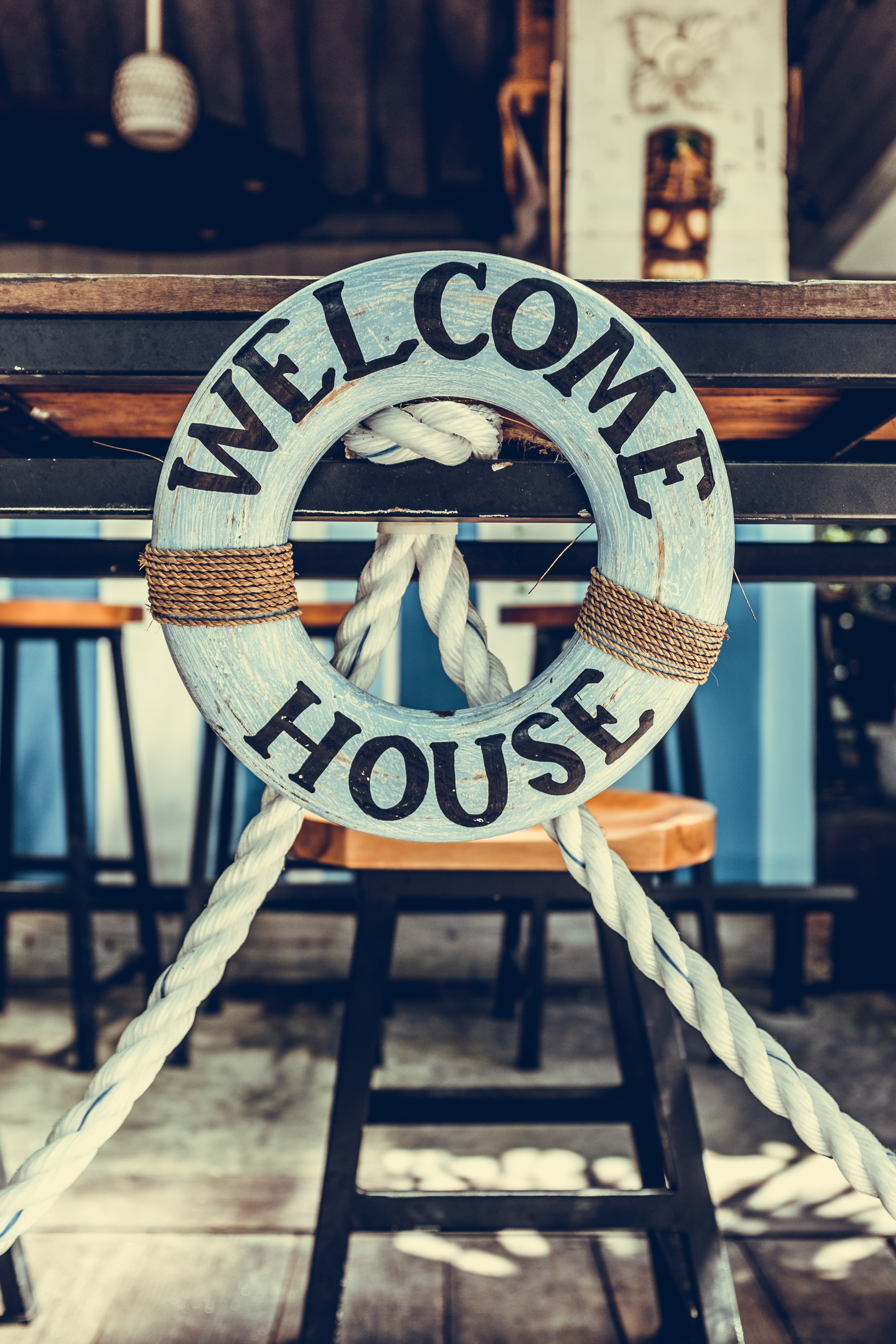 Welcome House bouy decor