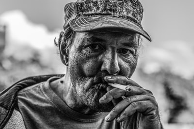 Faces of the Homeless - Patrick Hendry