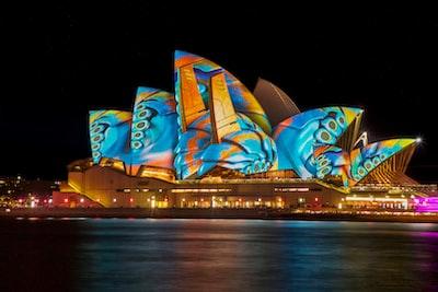 opera house, sydney australia australia zoom background
