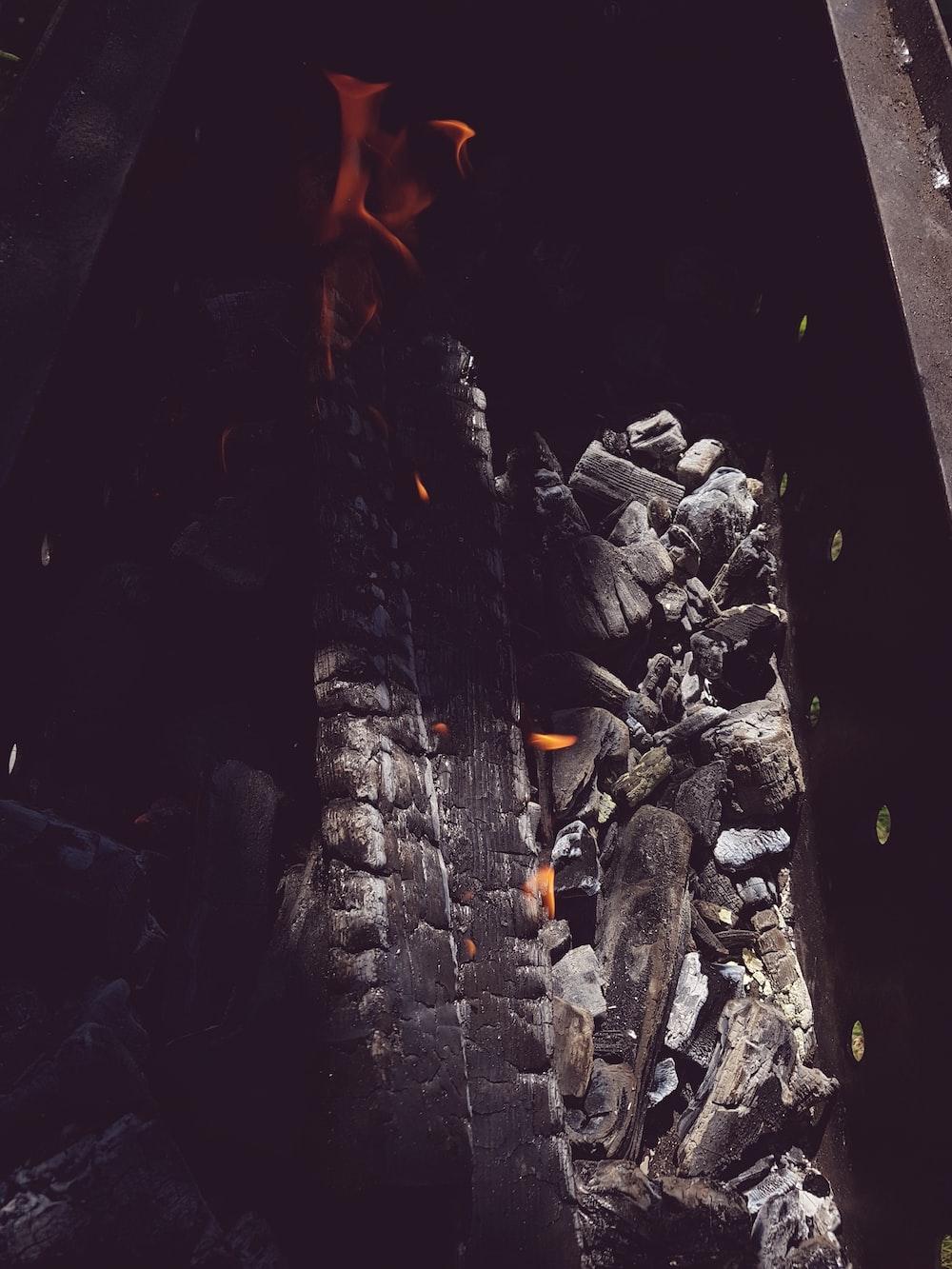 firing charcoals