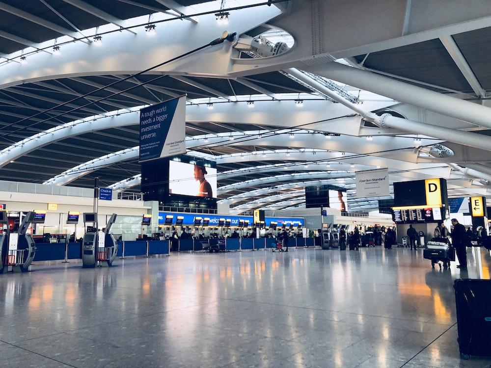 photo of departure area