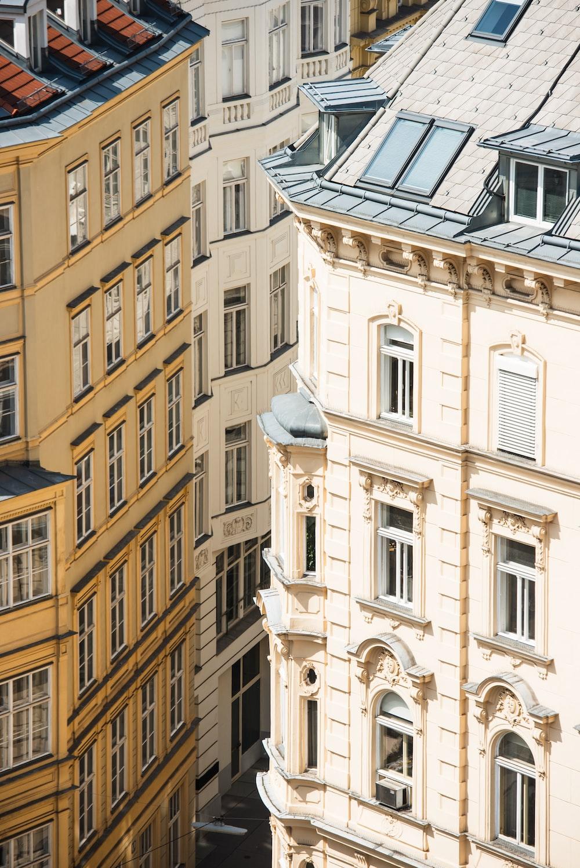 bird's-eye view of high-rise buildings