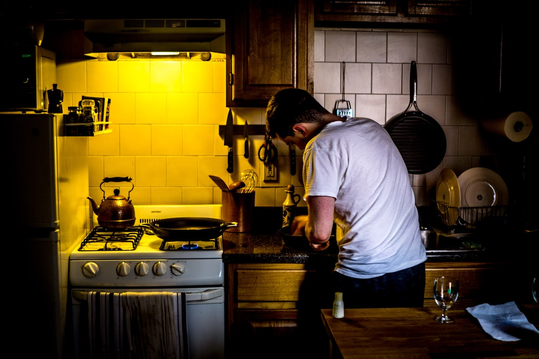 Mageirocophobia is the intense fear of having to cook.