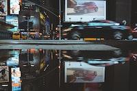 black car collage