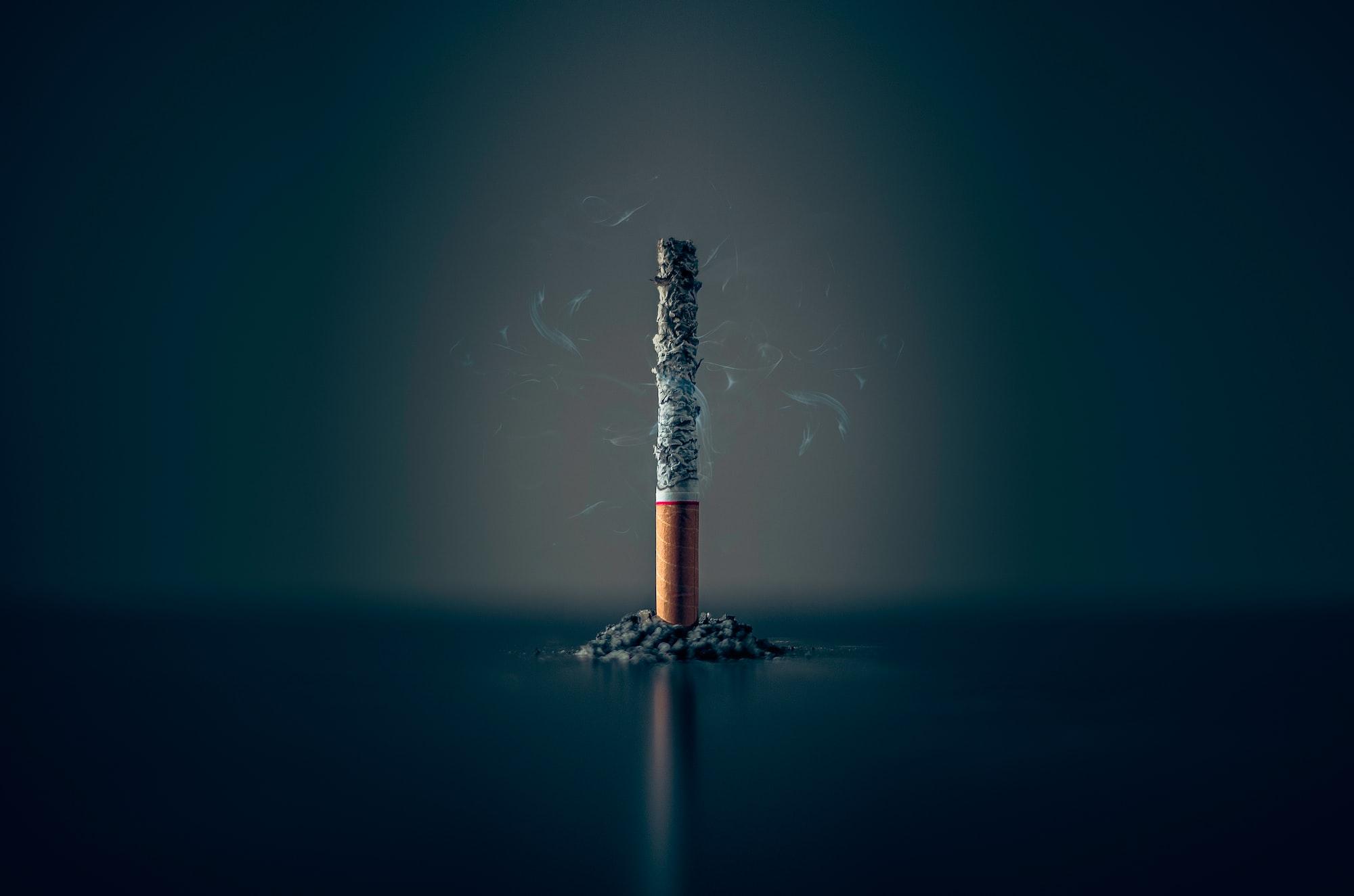 15: Cigarettes and plastic bottles