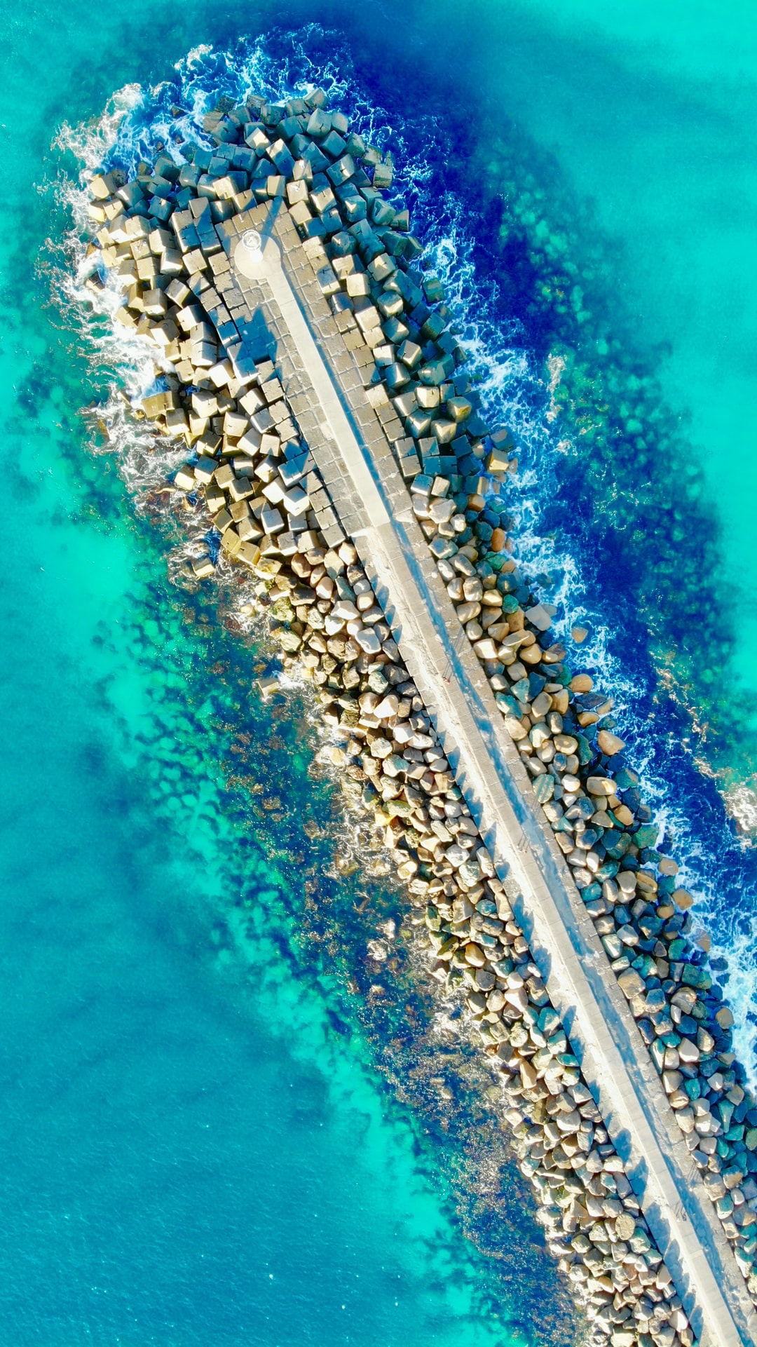 Exciting colours of the Sea