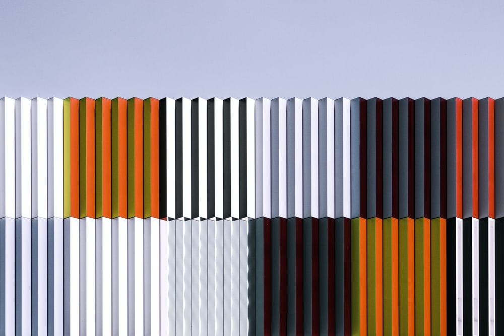 photo of corrugated sheets