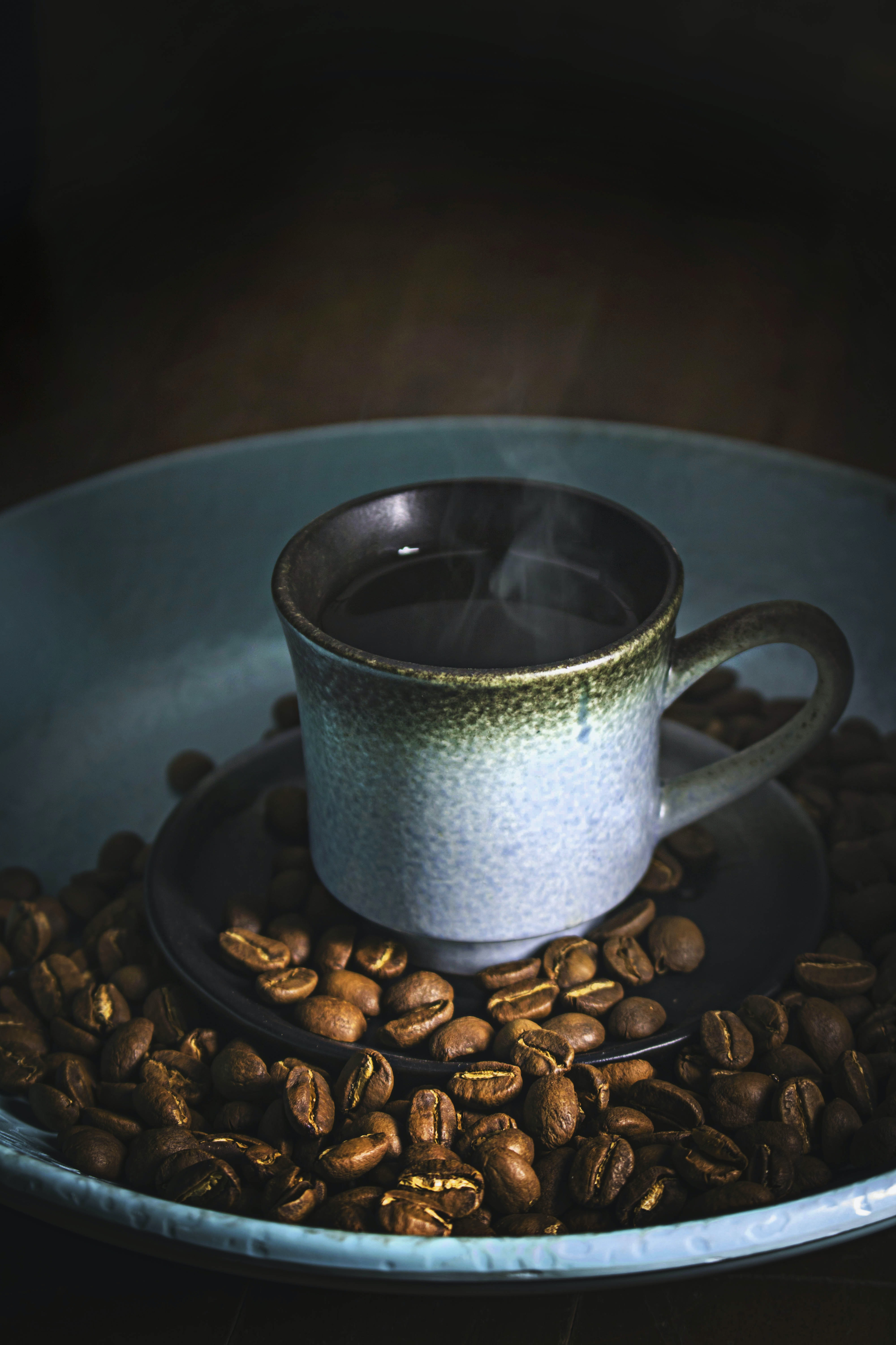 photo of cup with coffee