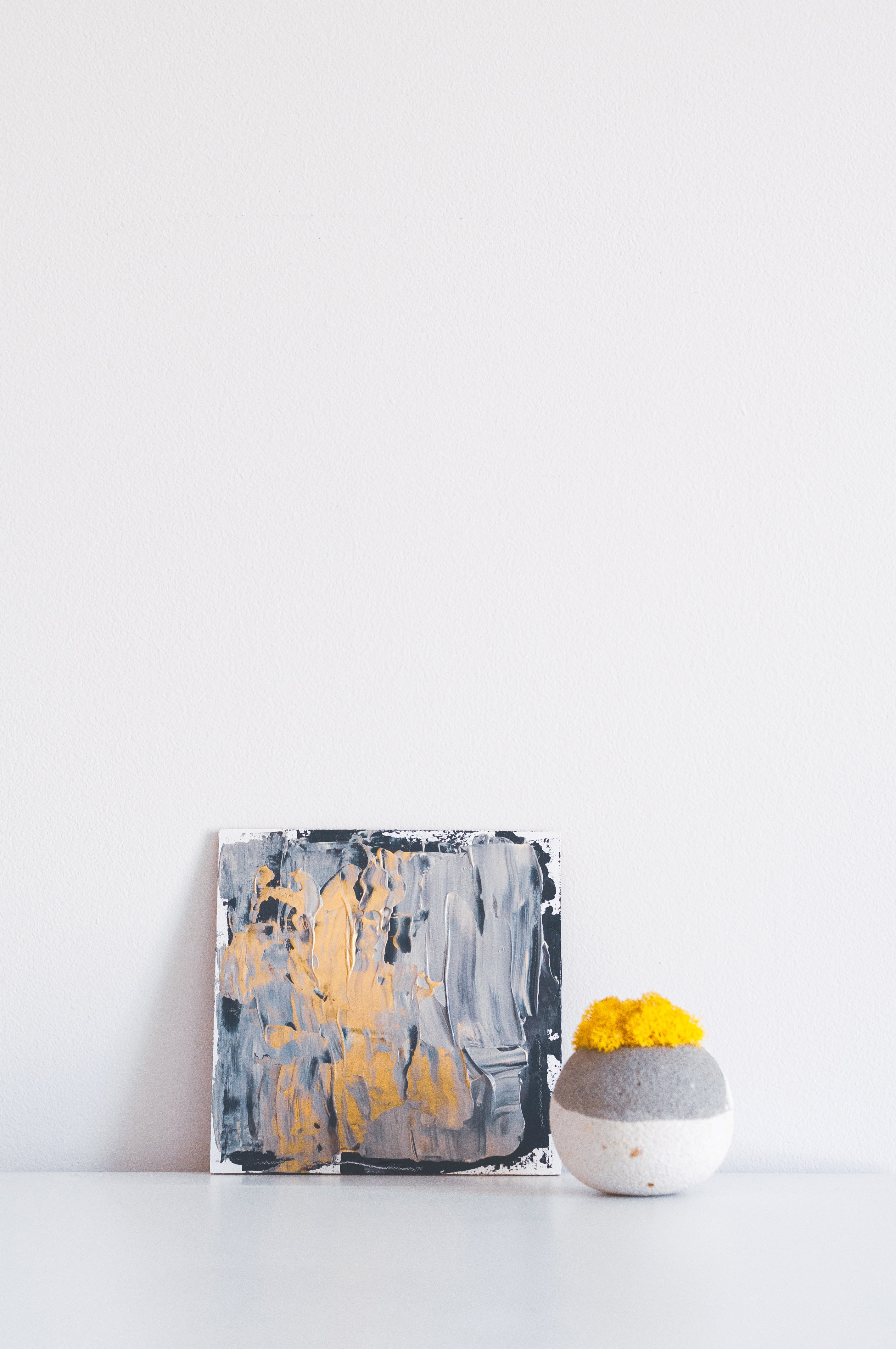 abstract painting decor