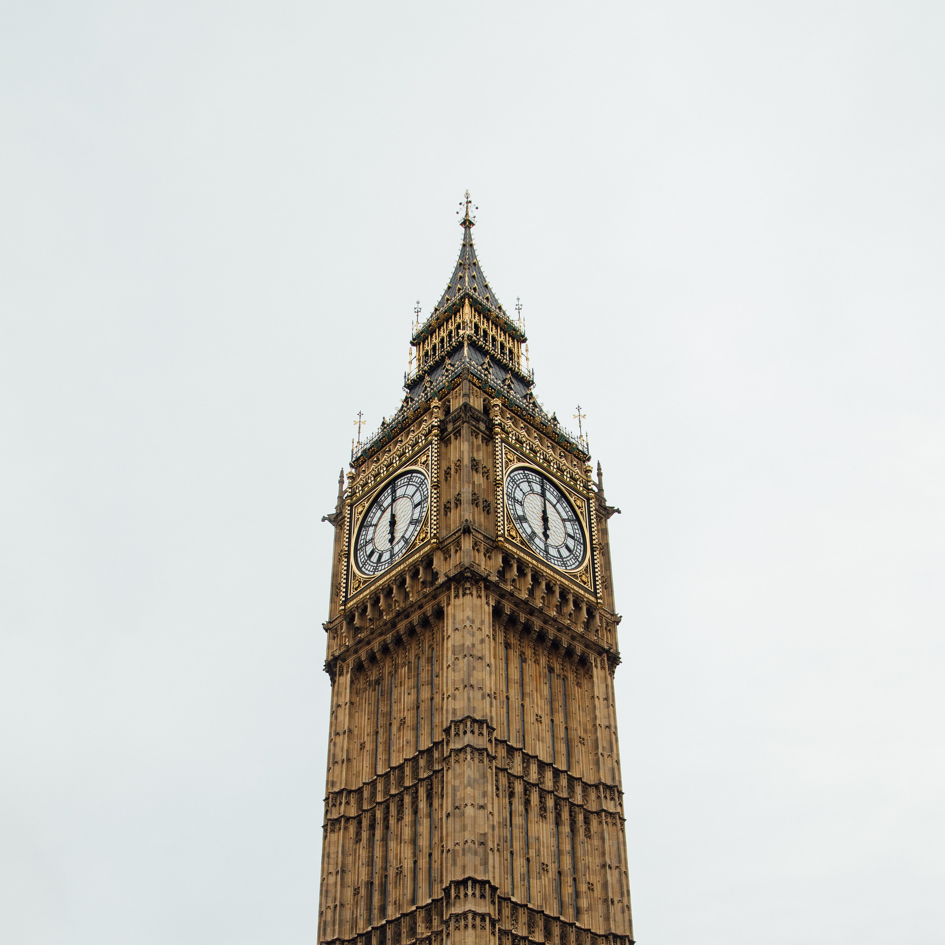 architectural photography of Big Ben