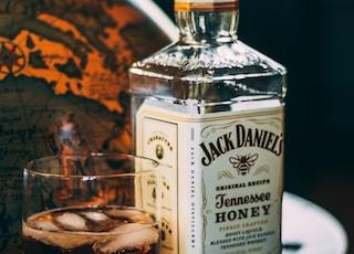Jack Daniels Tennessee whisky bottle
