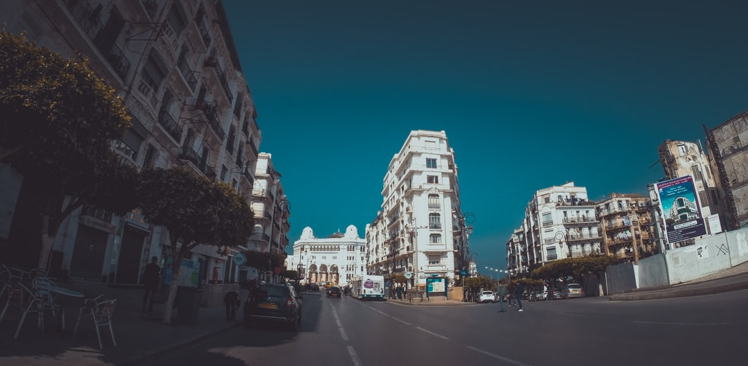 street in capital of algera such a great place