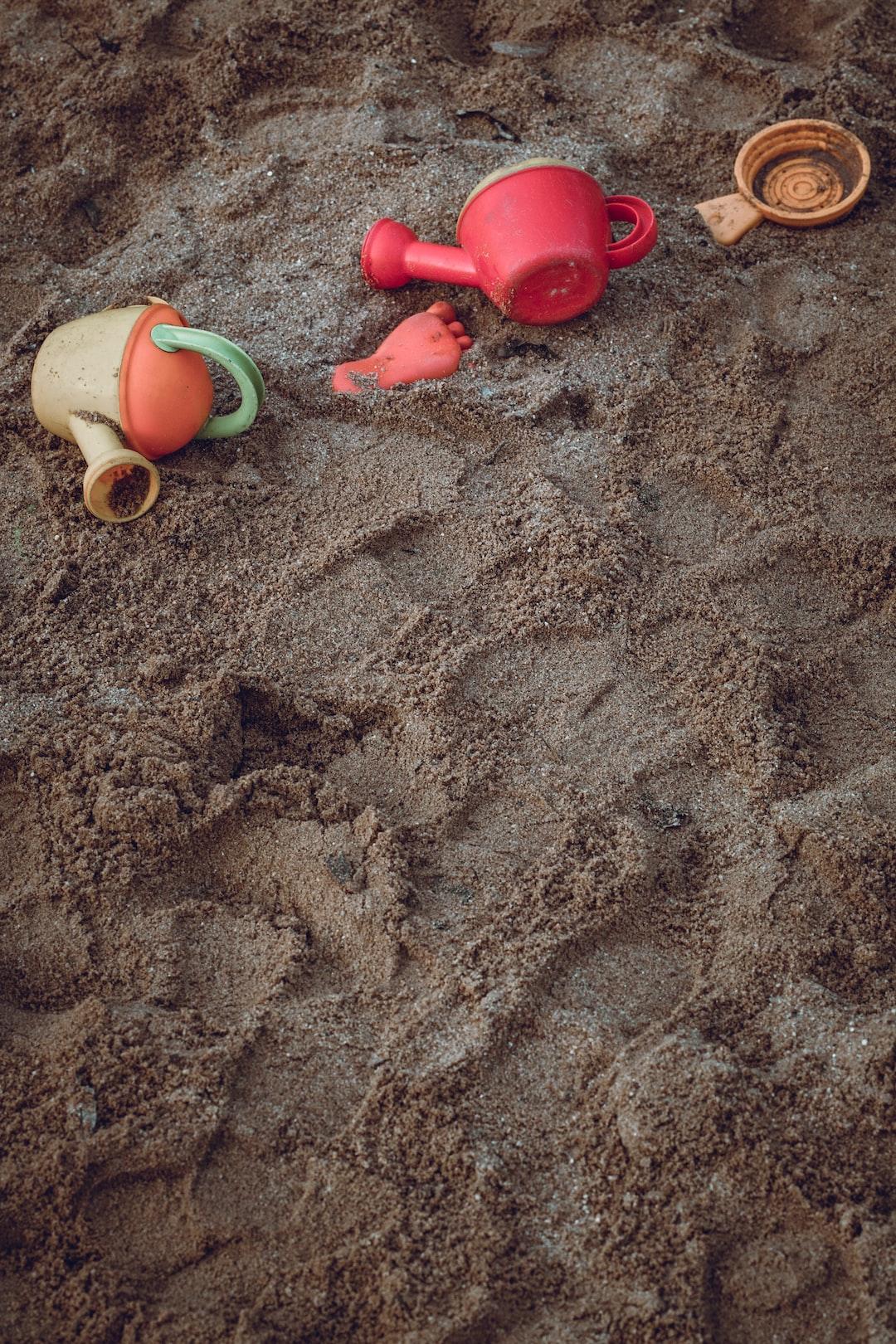 Sandbox nursery school childhood