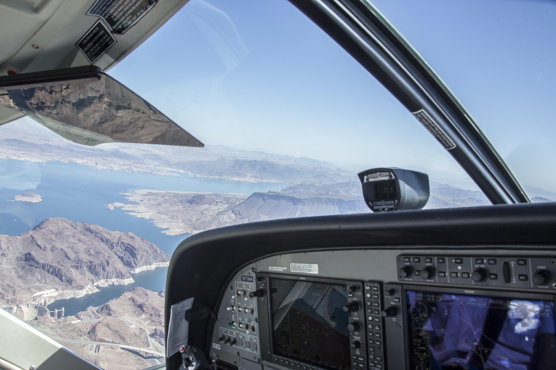 high-angle view of land