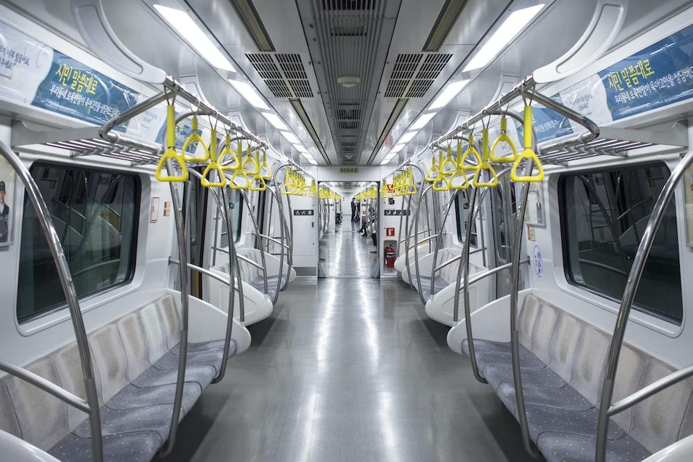train car interior