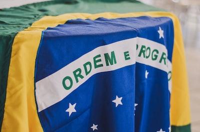 brazillian flag brazil zoom background