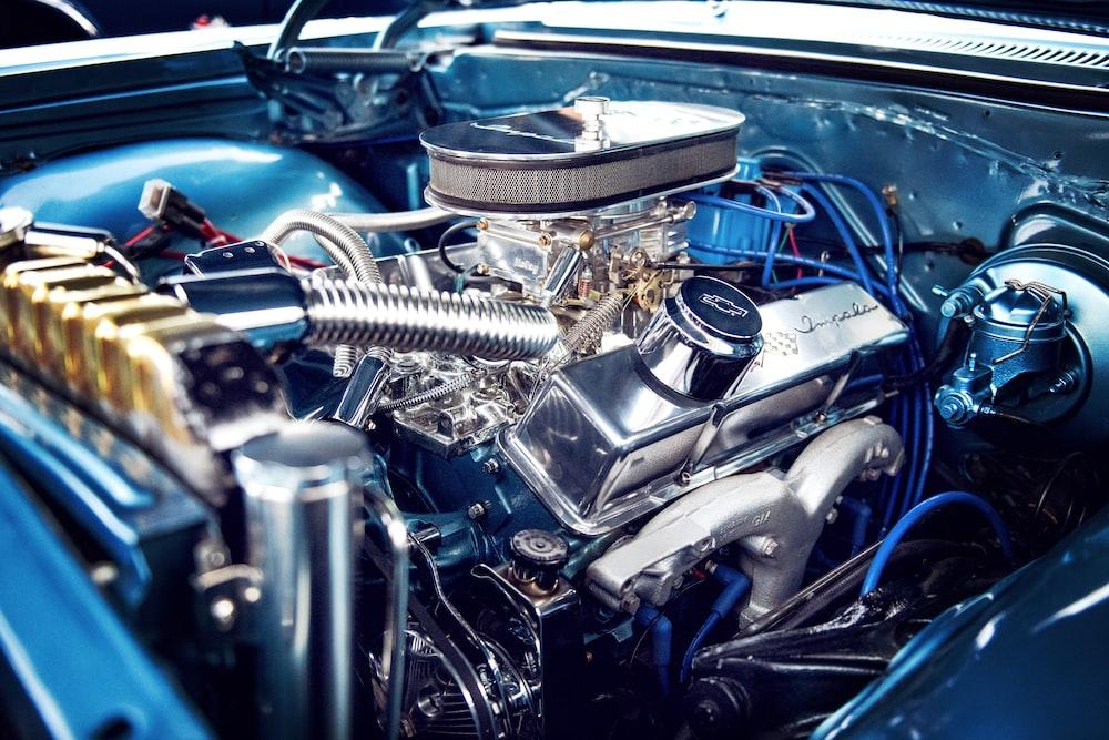 car engine bay