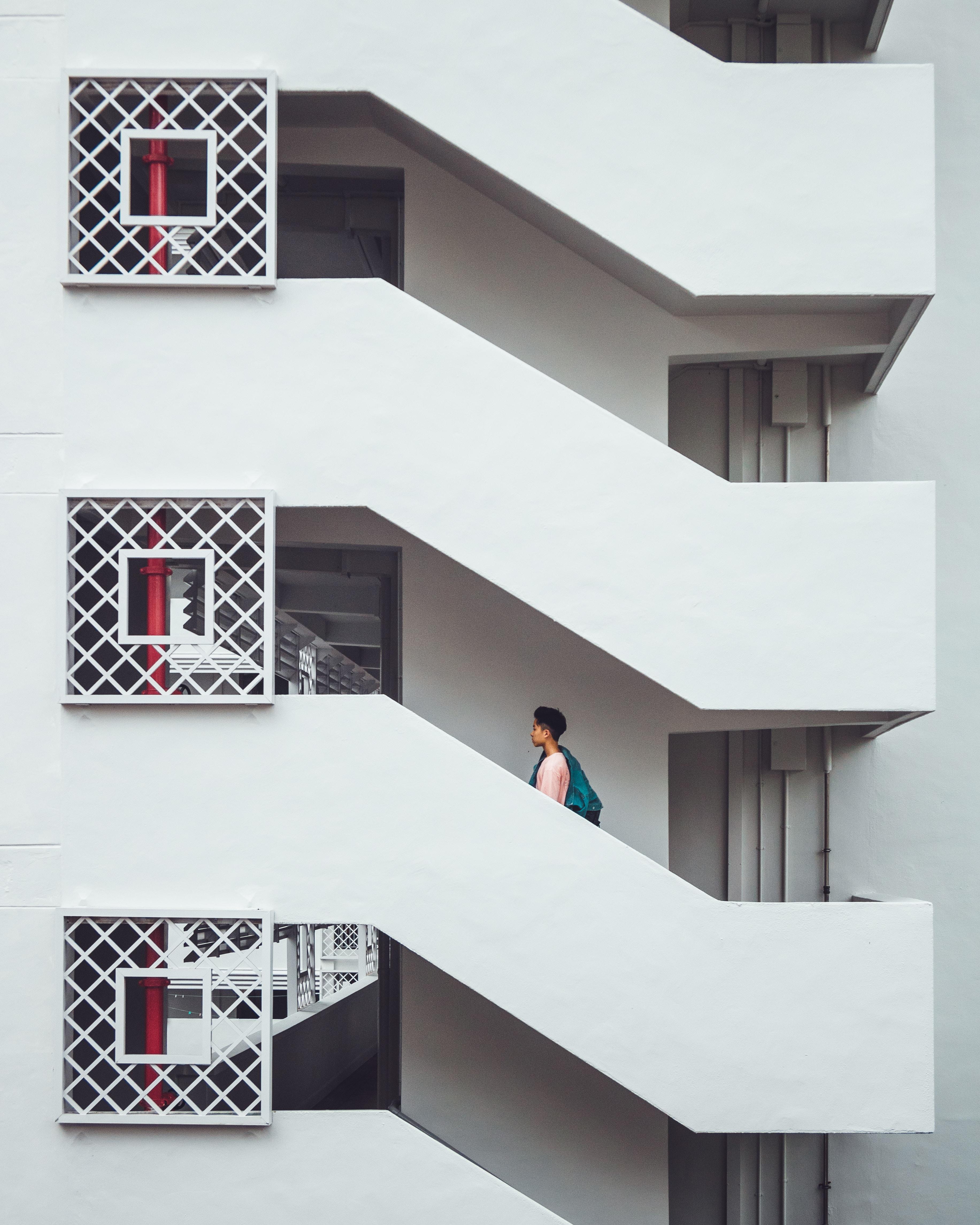 white concrete building