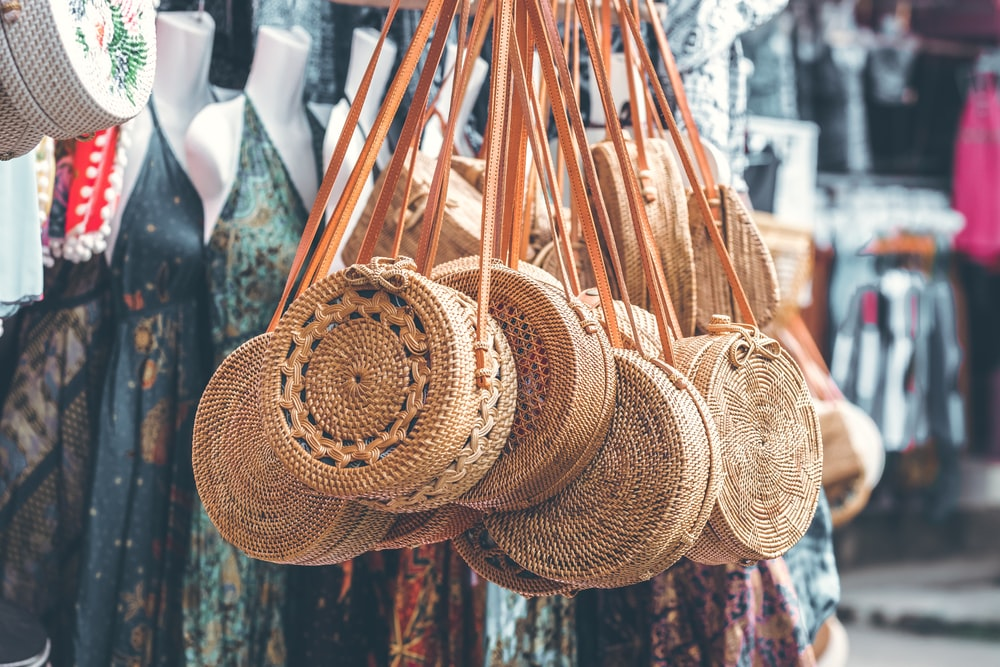 Woven Baskets and Bags