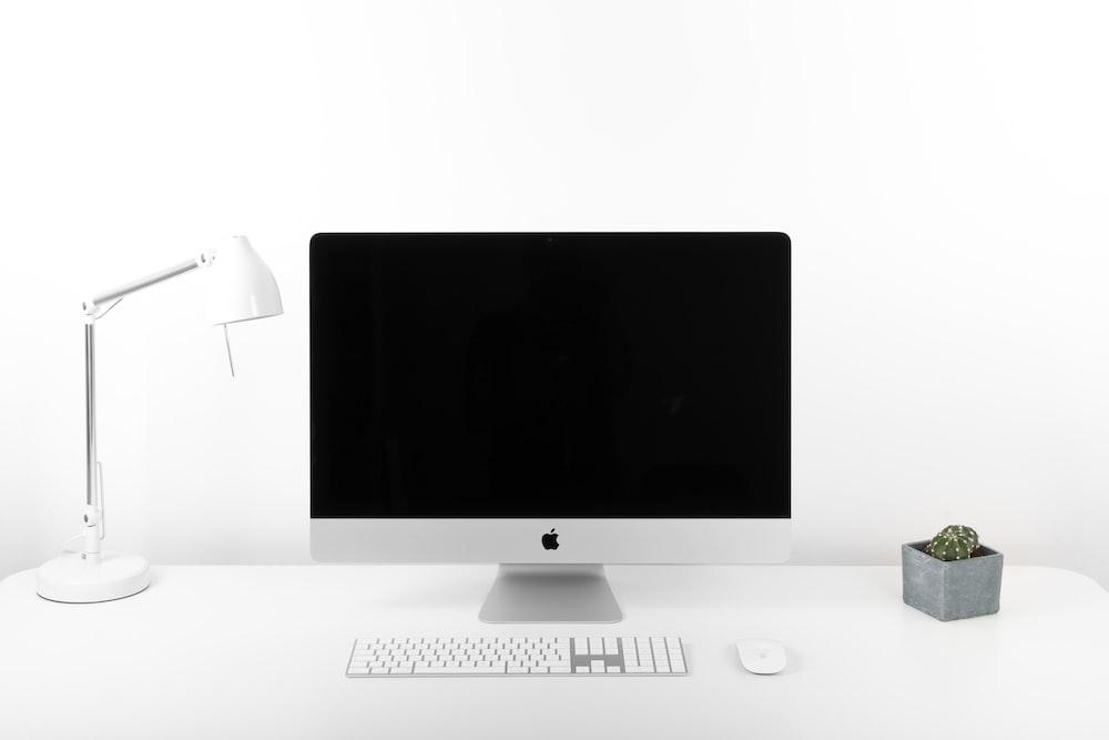 silver iMac