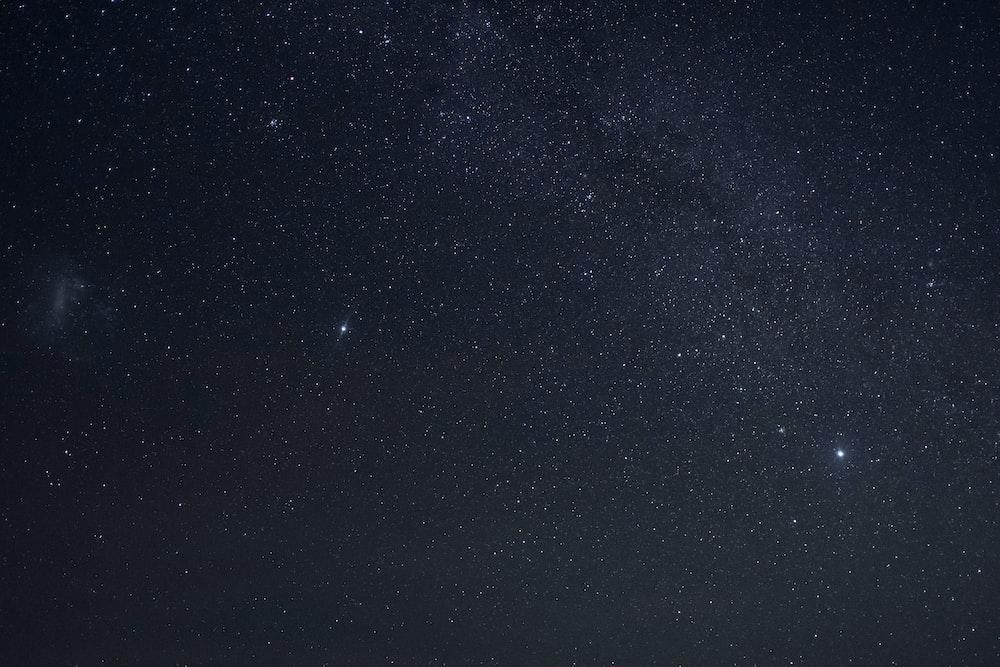 stars at sky