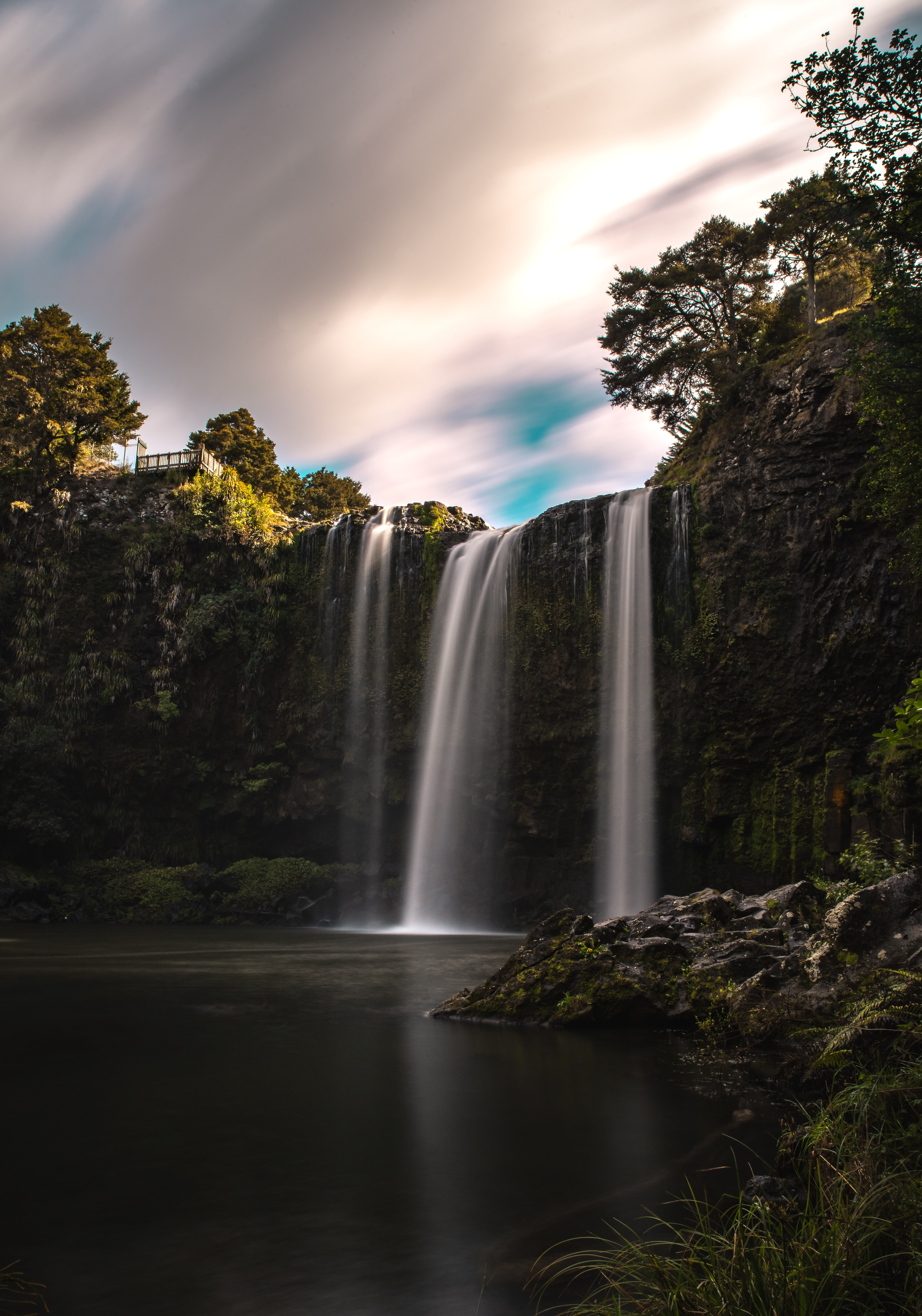 Skogafoss waterfalls in Iceland