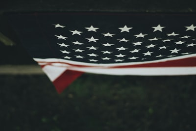 flag of america memorial day teams background