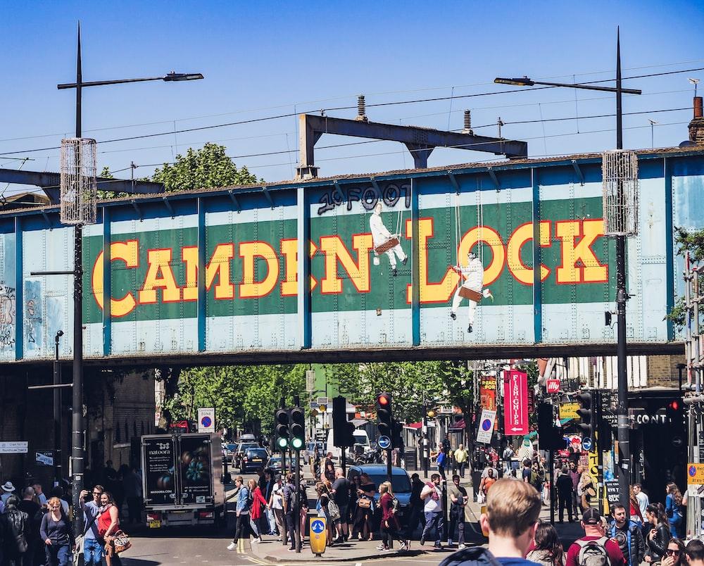 Camden Lock signage