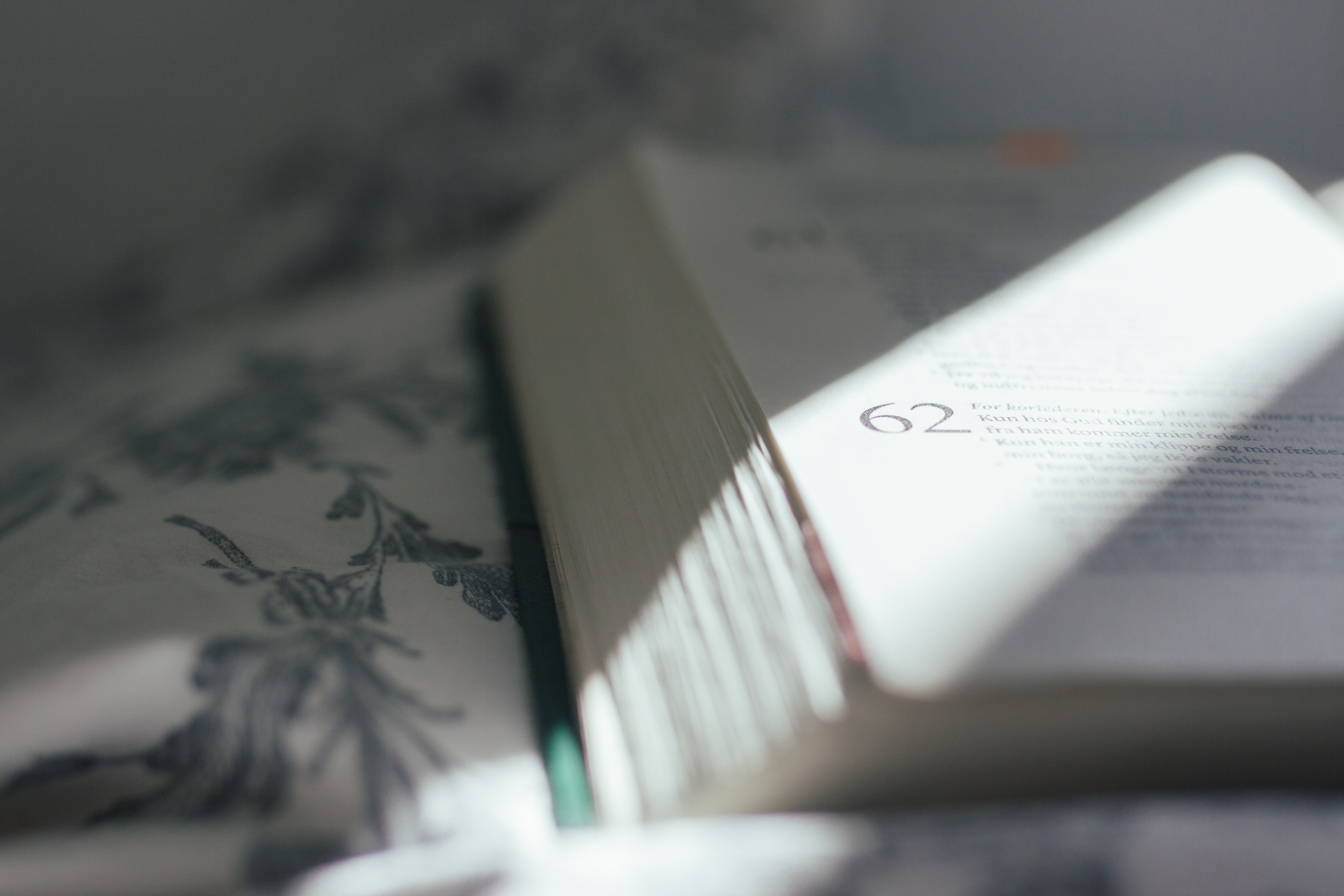 opened book