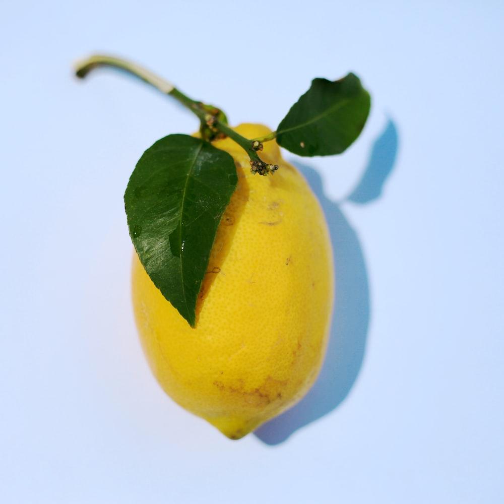 yellow citrus fruit