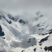 photo of snow mountain