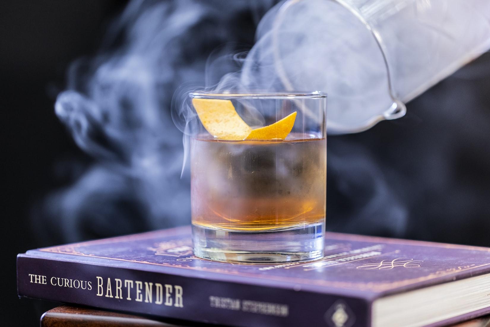 Gallery Image 2 - Smokey cocktail