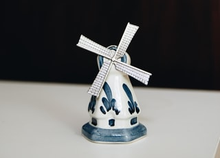 I inherited this little blue and white delft windmill statue from my grandmother when she passed away. I grew up in a family of Dutch heritage, so there was a lot of Delft and windmills around. I love having it as a little reminder of my hometown and of her.