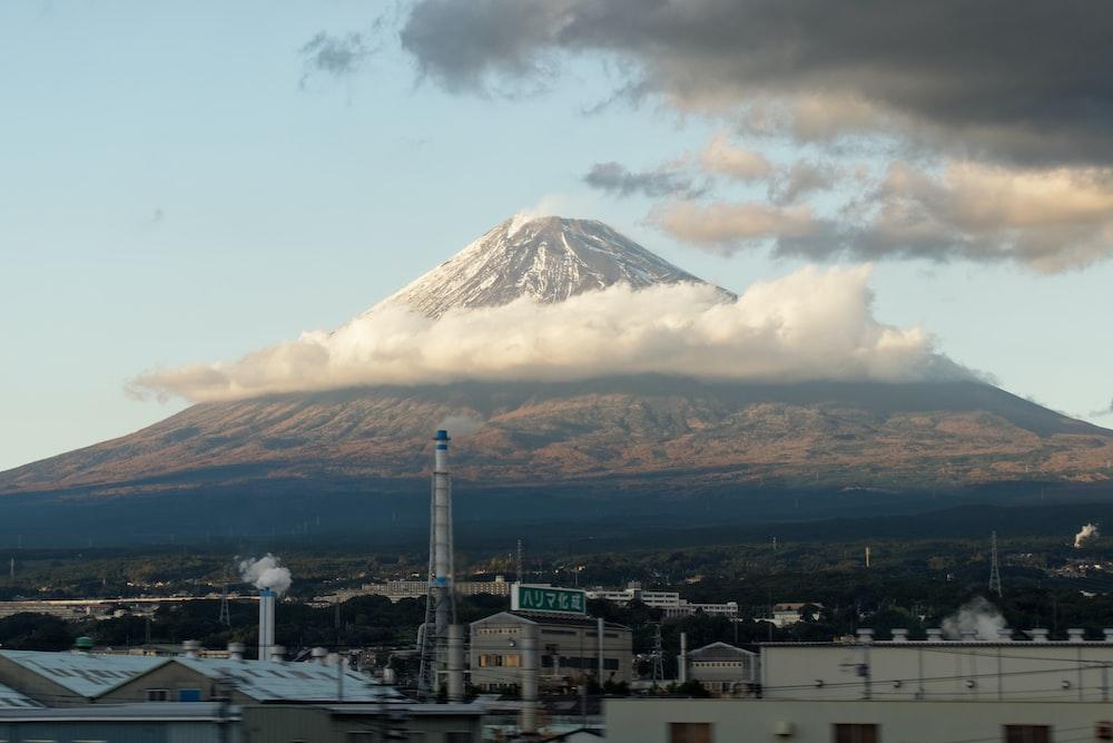 Mount Fuji during daytime